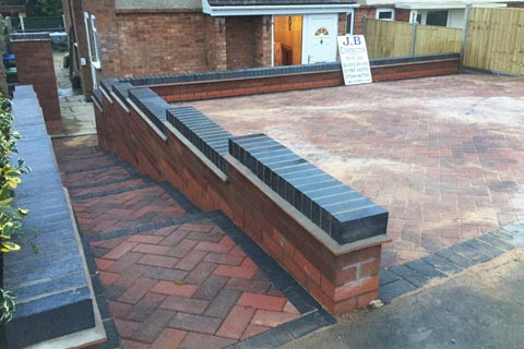 Driveways and paving contractors in Rugby Warwickshire