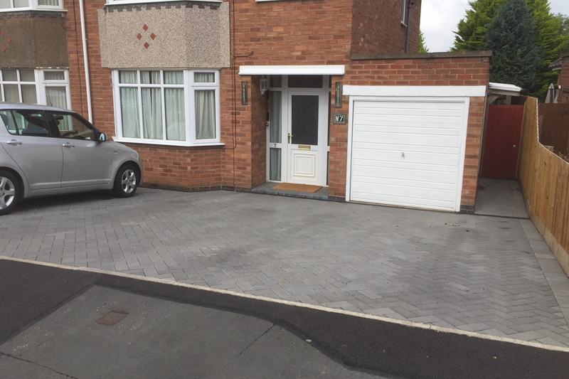 Driveway and paving contractor Lutterworth
