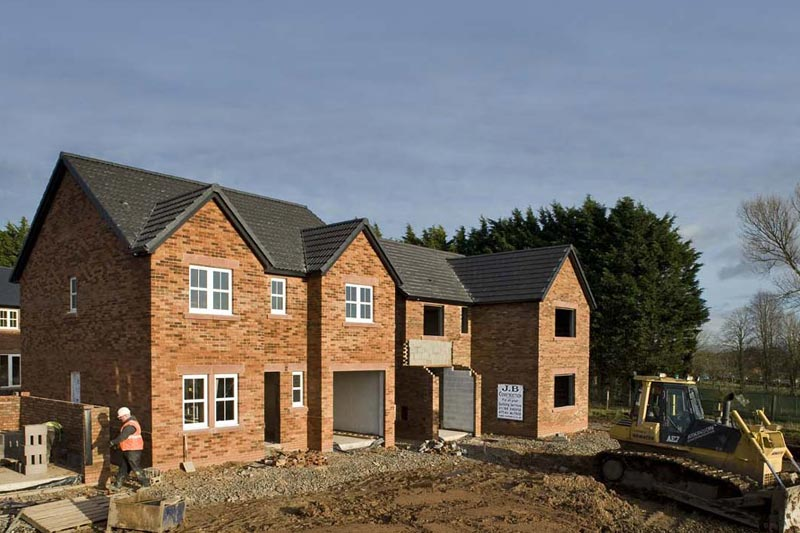 new build house builder in Warwickshire