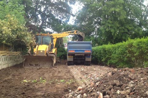 site clearance contractors in Warwickshire